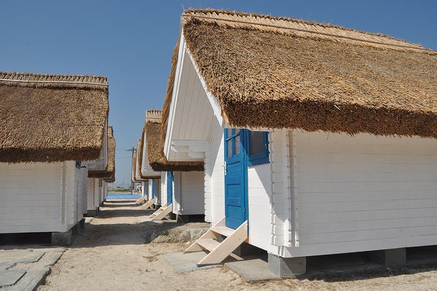 Case de la Gura Portitei in Delta Dunarii